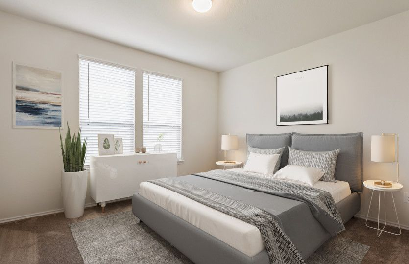 Bedroom featured in the Adams By Centex Homes in Houston, TX