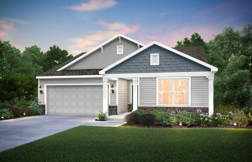 Exterior featured in the Serenada By Centex Homes in Louisville, KY