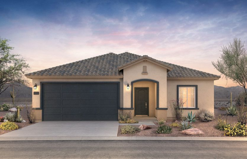Exterior featured in the Lantana By Centex Homes in Phoenix-Mesa, AZ