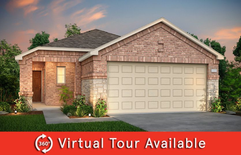 Exterior featured in the Adams By Centex Homes in Sherman-Denison, TX