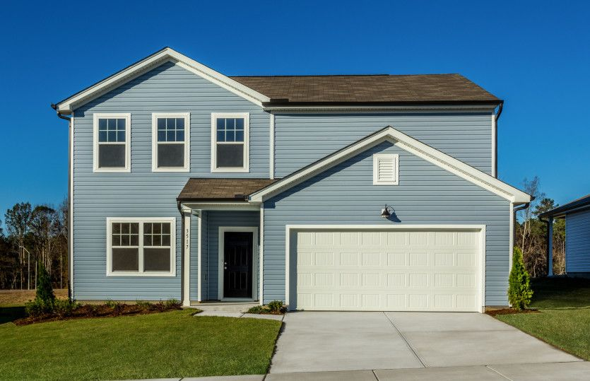 Exterior featured in the Rosella By Centex Homes in Raleigh-Durham-Chapel Hill, NC