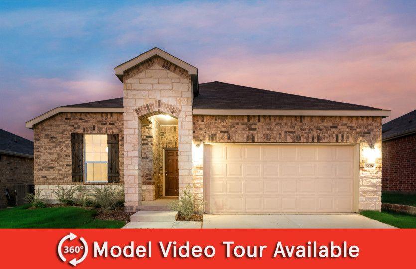 Exterior featured in the Eastgate By Centex Homes in Dallas, TX