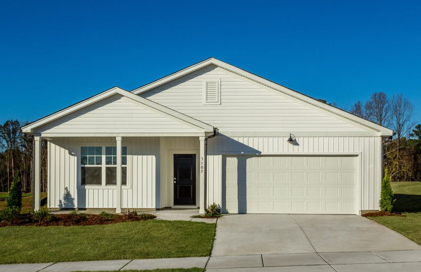 Exterior featured in the Ibis By Centex Homes in Raleigh-Durham-Chapel Hill, NC