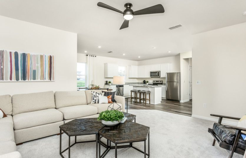 Living Area featured in the Ibis By Centex Homes in Raleigh-Durham-Chapel Hill, NC