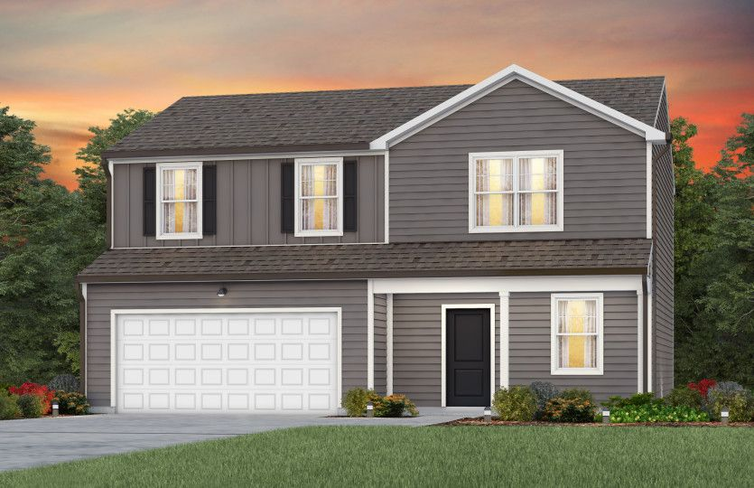 Exterior featured in the Osprey By Centex Homes in Raleigh-Durham-Chapel Hill, NC