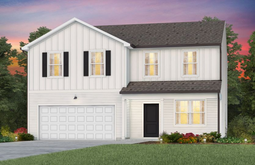 Exterior featured in the Whimbrel By Centex Homes in Raleigh-Durham-Chapel Hill, NC