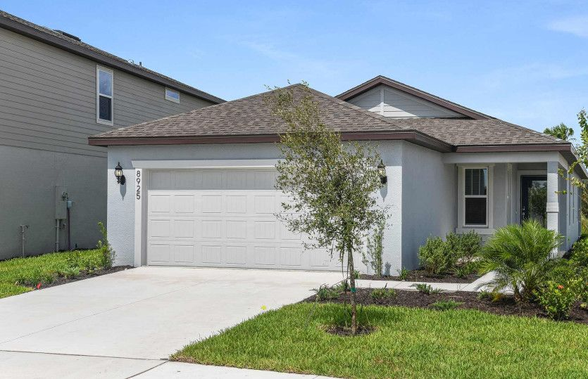Exterior featured in the Daniel By Centex Homes in Tampa-St. Petersburg, FL