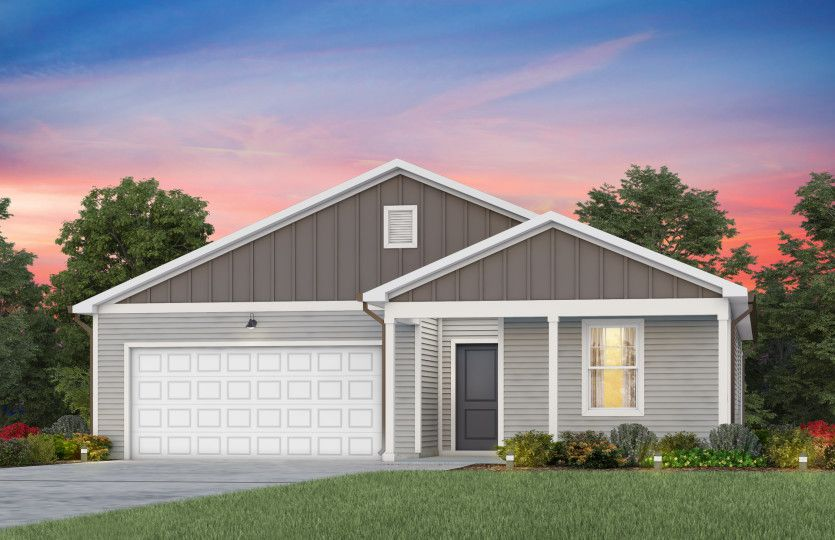 Exterior featured in the Dunlin By Centex Homes in Raleigh-Durham-Chapel Hill, NC