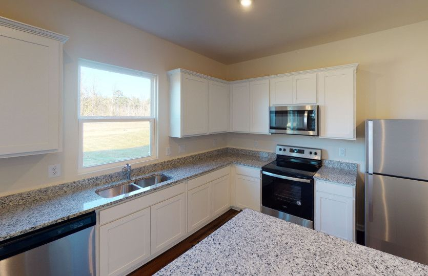 Kitchen featured in the Rosella By Centex Homes in Charlotte, NC