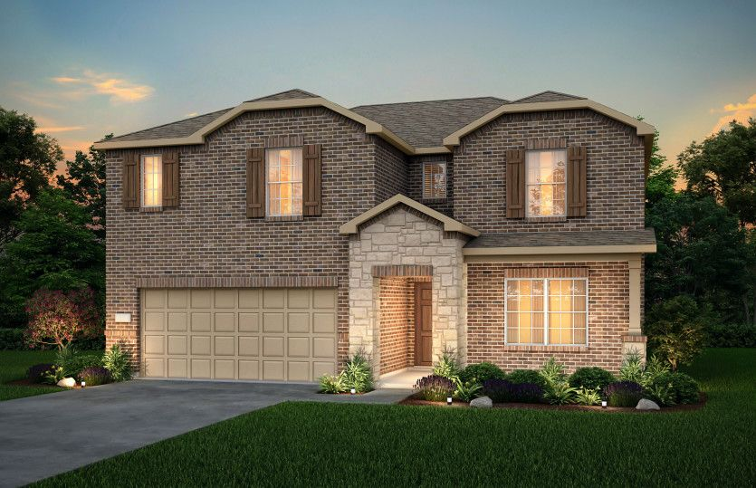 Exterior featured in the Stockdale By Centex Homes in Fort Worth, TX