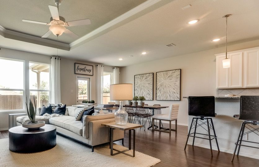 Living Area featured in the Stockdale By Centex Homes in Fort Worth, TX