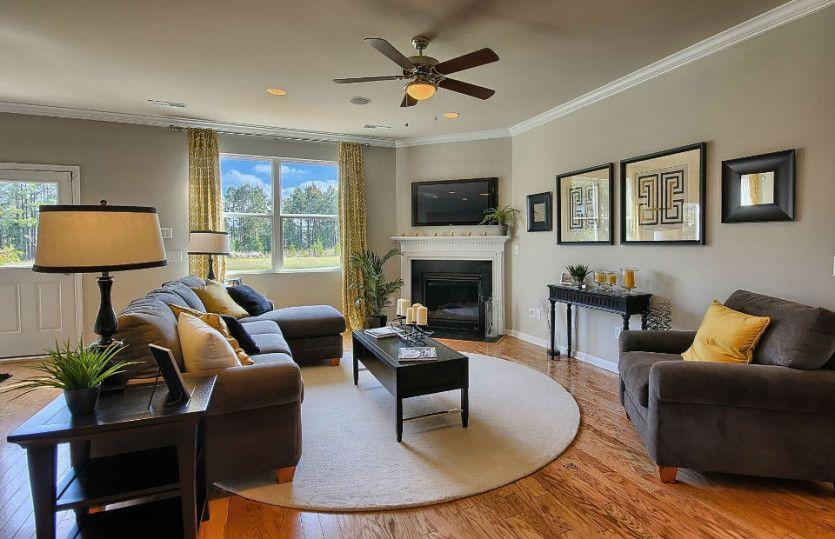 Living Area featured in the Oasis By Centex Homes in Nashville, TN