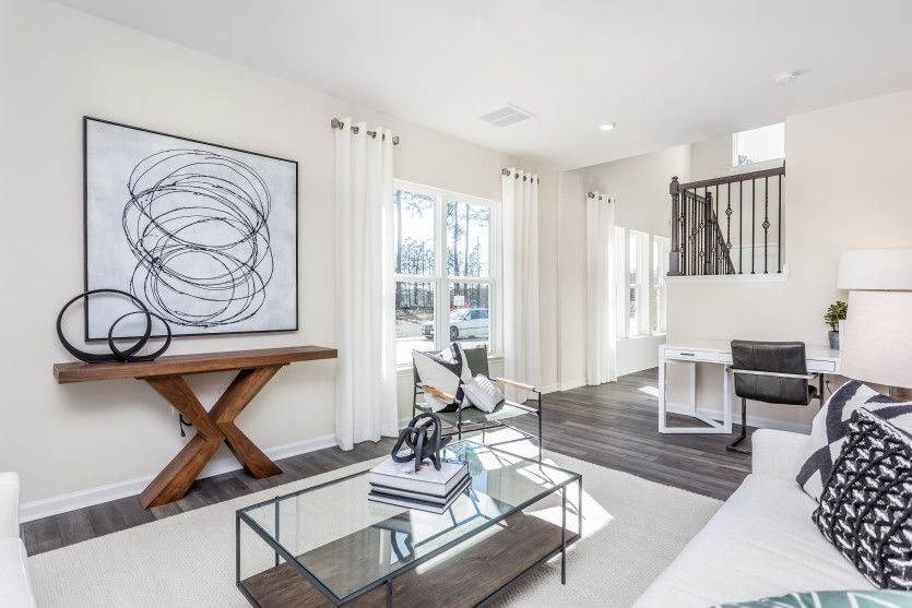 Living Area featured in the Kingston By Centex Homes in Raleigh-Durham-Chapel Hill, NC