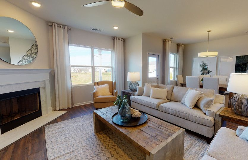 Living Area featured in the Rosemont By Centex Homes in Nashville, TN
