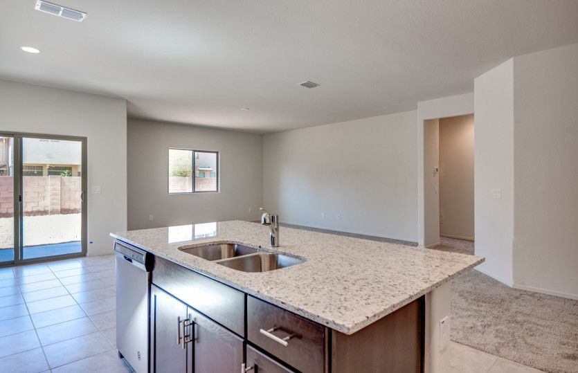 Kitchen featured in the Bluebell By Centex Homes in Tucson, AZ