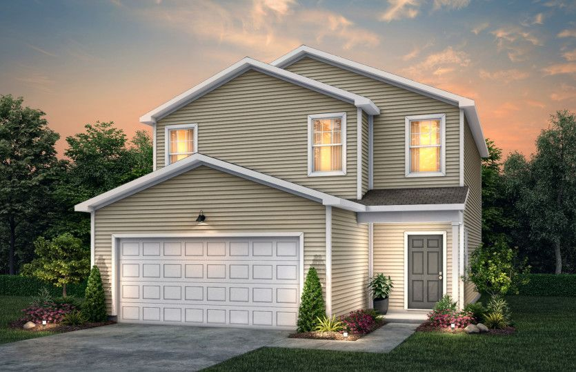 Exterior featured in the Longspur By Centex Homes in Charlotte, NC