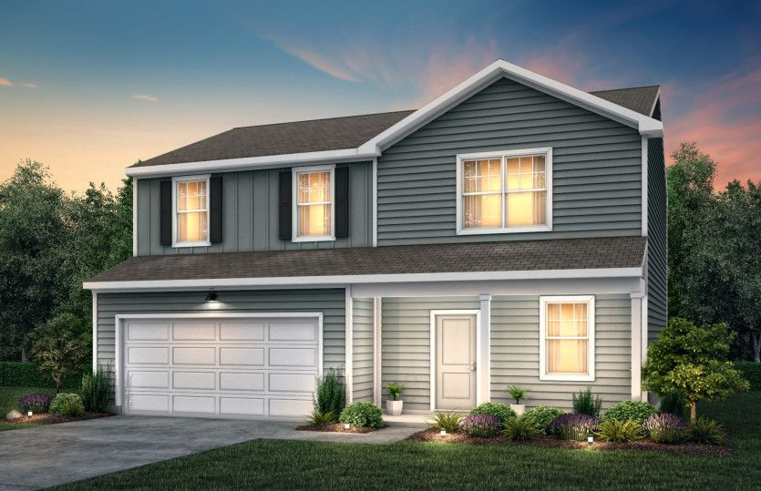 Exterior featured in the Osprey By Centex Homes in Charlotte, NC