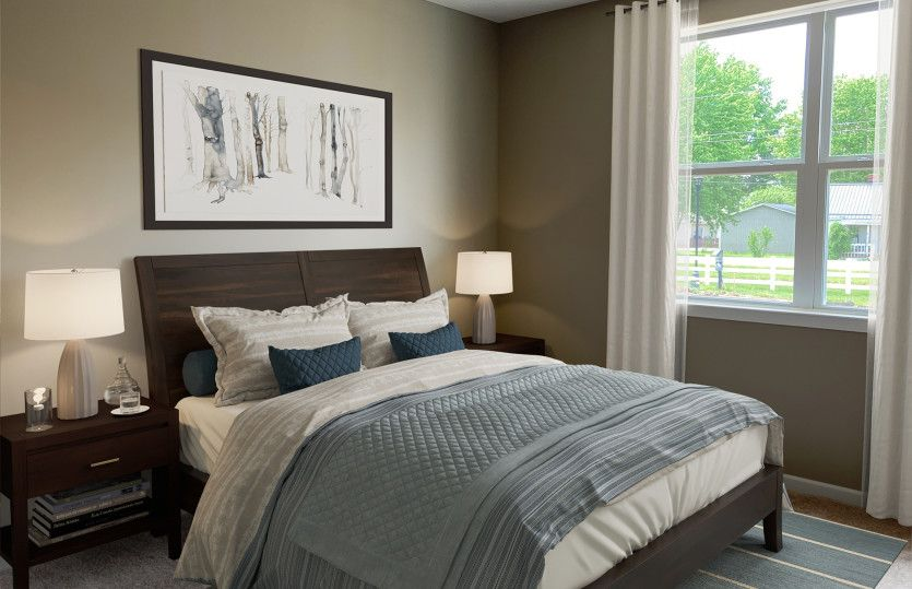 Bedroom featured in the Sereneda By Centex Homes in Columbus, OH