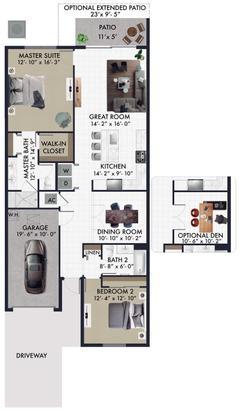 The Charlotte:Floor Plan