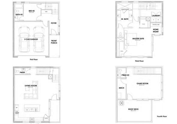 1106 Manderly Ct.:Floor Plan