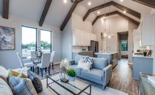Stevens Park Townhomes by Centre Living Homes in Dallas Texas