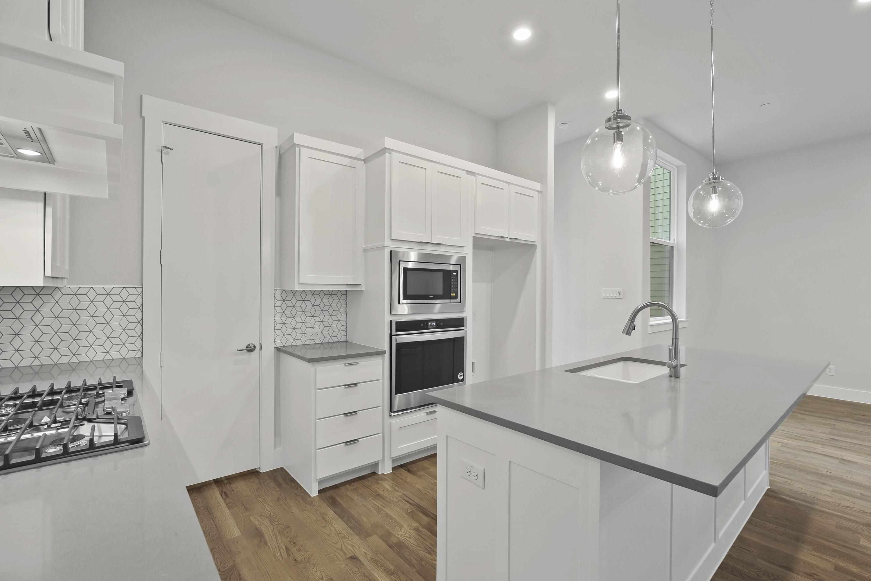 Kitchen featured in the Newcastle By Centre Living Homes in Dallas, TX
