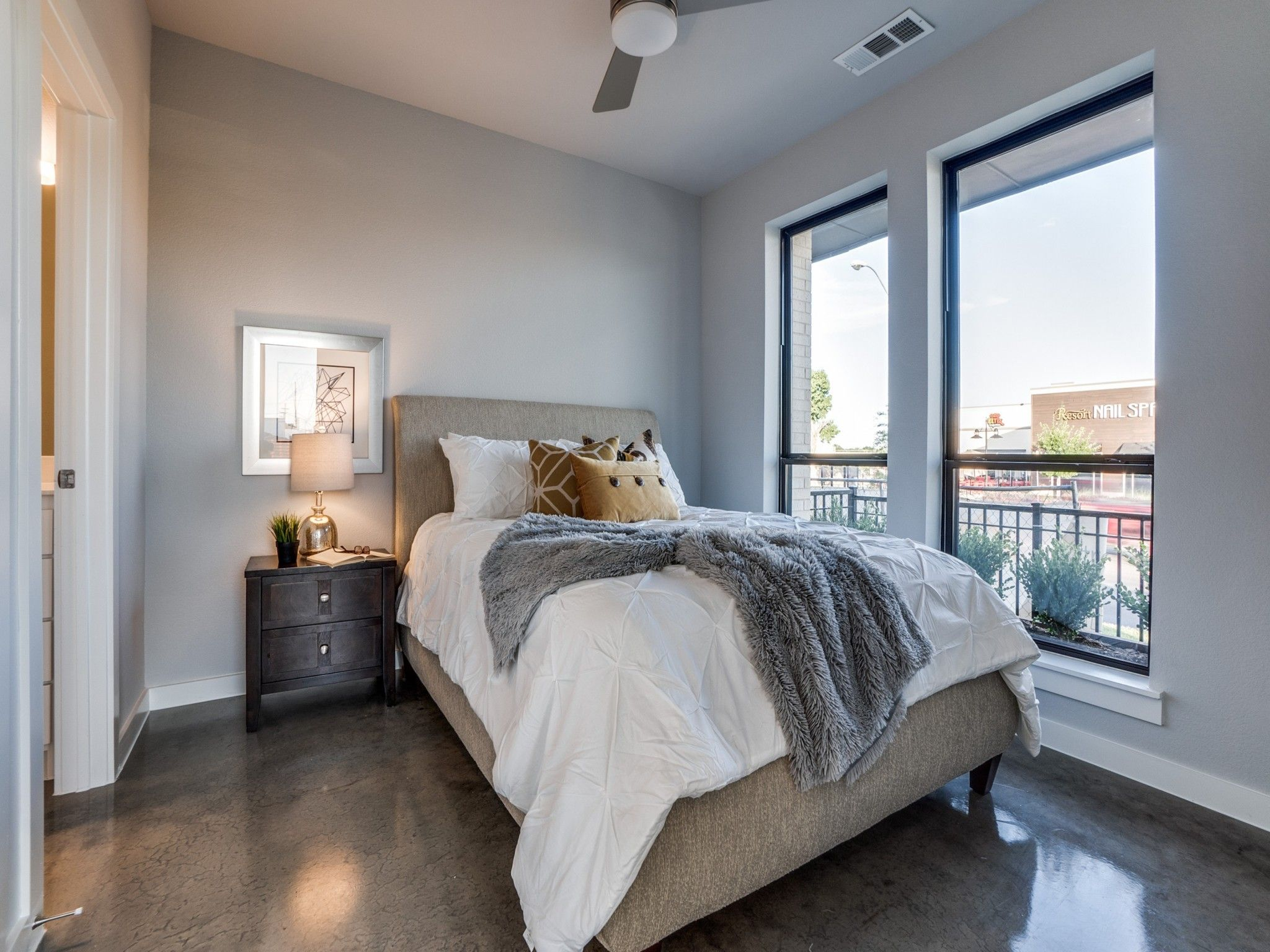 Bedroom featured in the Mulholland By Centre Living Homes in Dallas, TX