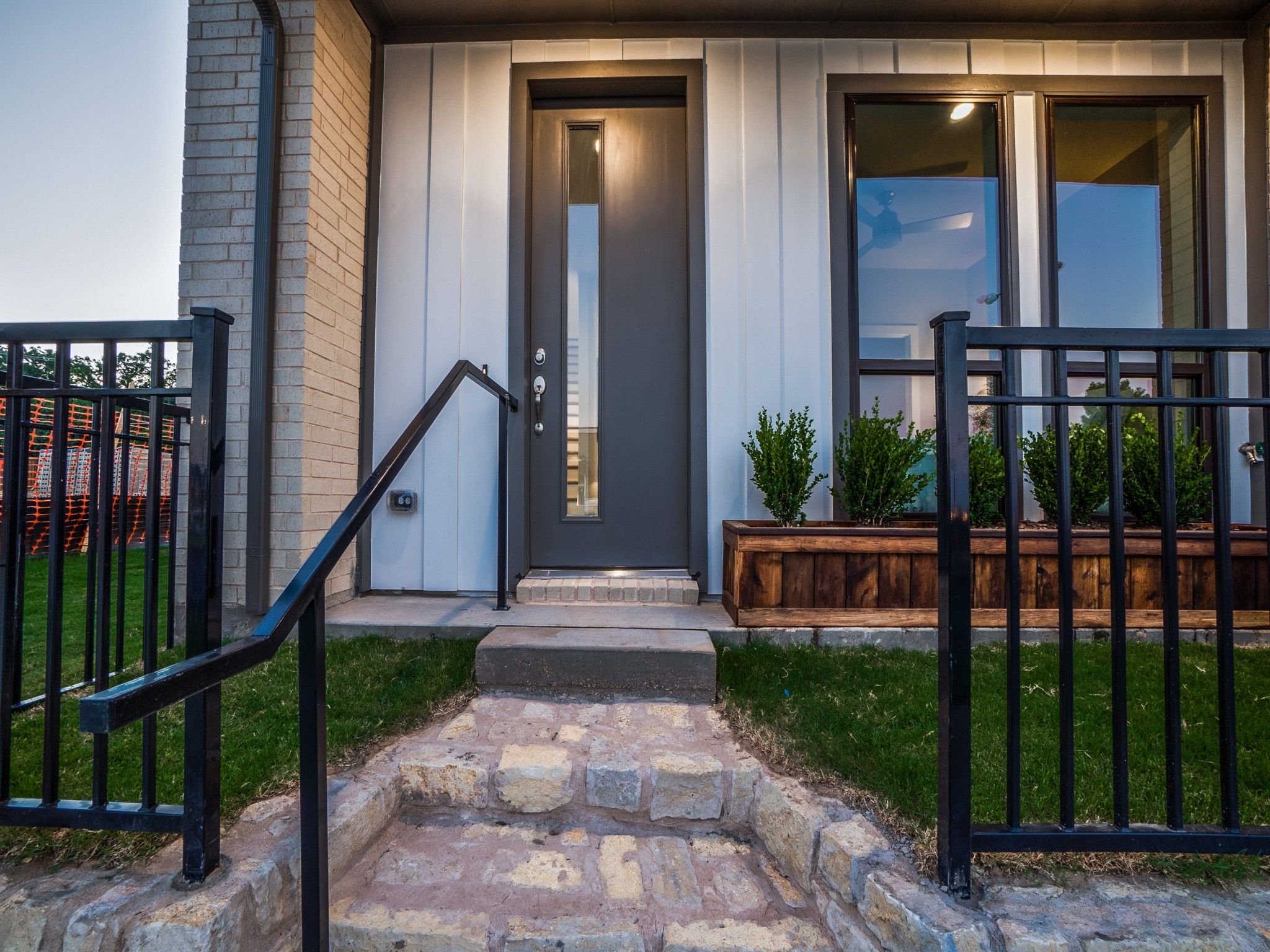 Exterior featured in the Mulholland By Centre Living Homes in Dallas, TX