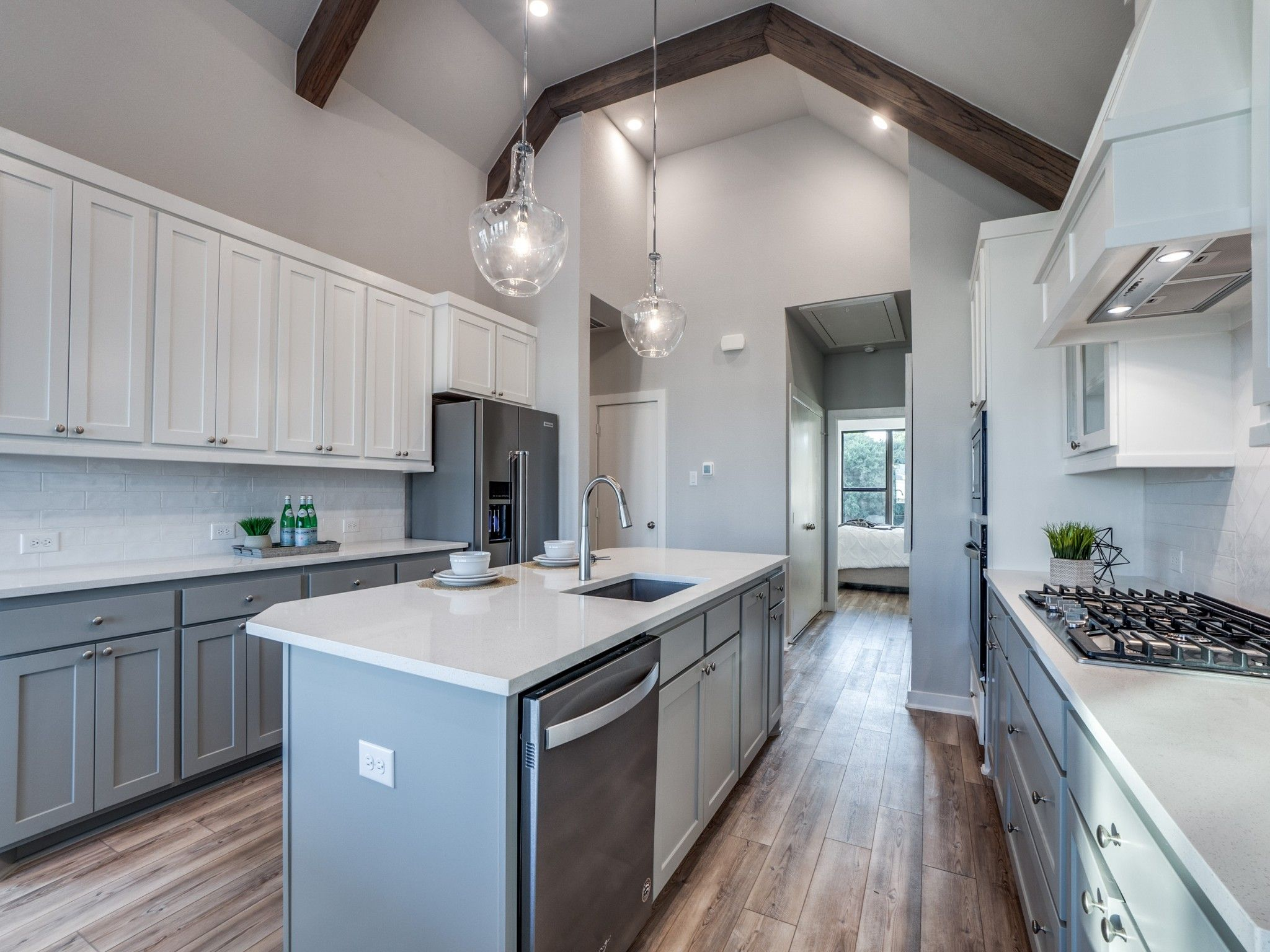 Kitchen featured in the Laurel By Centre Living Homes in Dallas, TX
