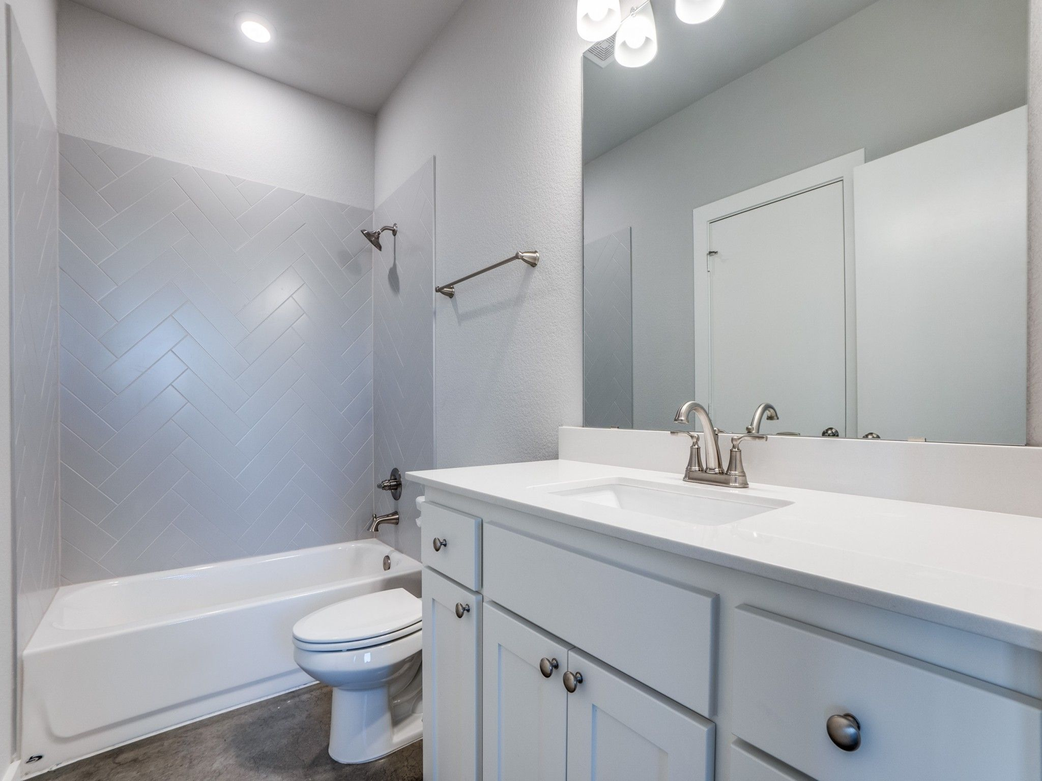 Bathroom featured in the Laurel By Centre Living Homes in Dallas, TX