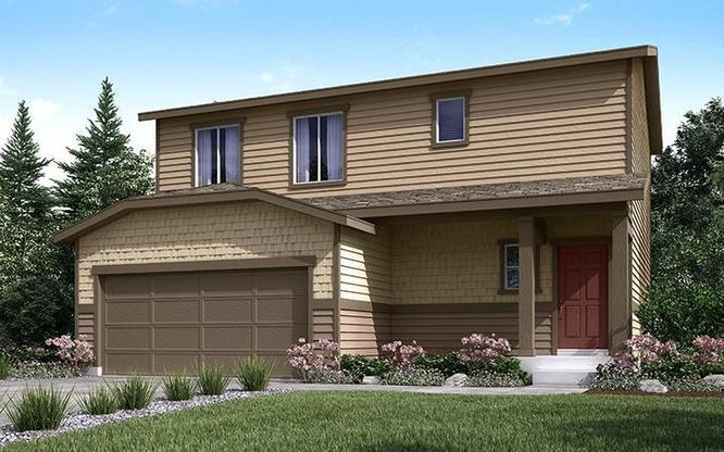 Exterior of Autumn Valley Single Family home Residence 36203 C
