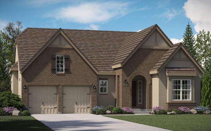 Marvella - Residence 5010 - Tudor Elevation:5010 Tudor Elevation