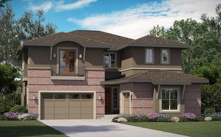 Marvella - Residence 7845 - Contemporary Elevation:7845 Contemporary Elevation