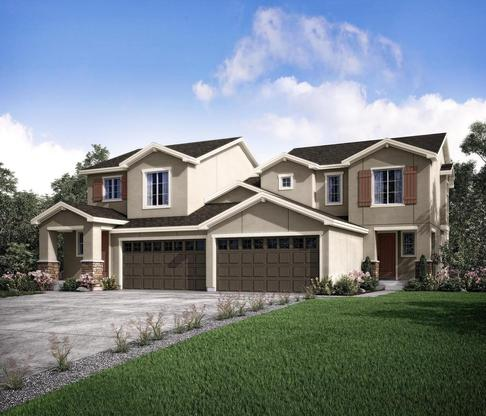 The Ascent plan at Wild Grass at Rockrimmon in Colorado Springs by Century Communities