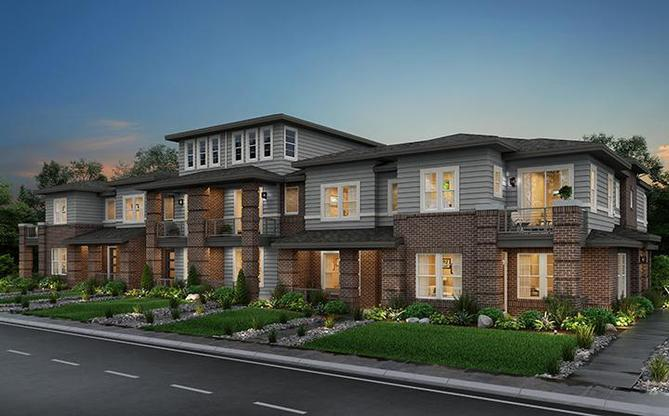 Belleview Place new townhomes in Aurora, CO