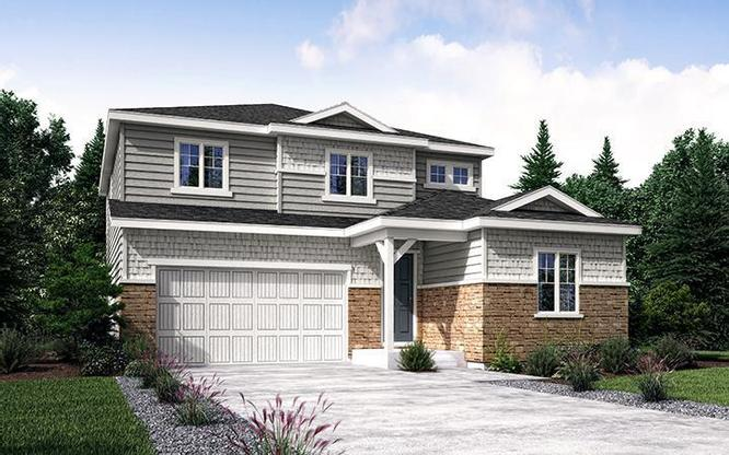 Exterior rendering of 40224 at Mayfield in Thornton by Century Communities