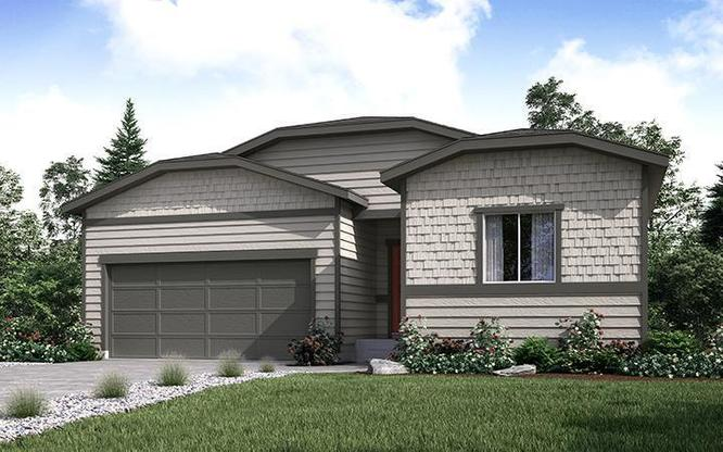 Rendering of Residence 39102 Elevation C at Autumn Valley in Dacono by Century Communities