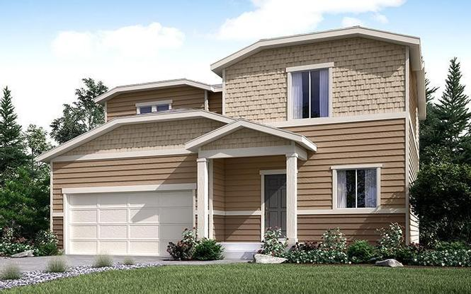 Exterior Rendering of Residence 39205 at Autumn Valley in Dacono by Century Communities