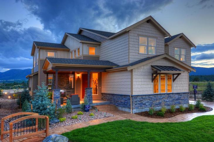 Lake of the Rockies - Model Home 5530