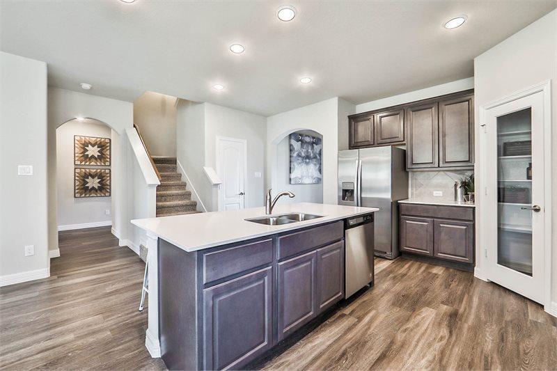 Kitchen-in-Houston-at-Hidden Meadow - 50's-in-Houston
