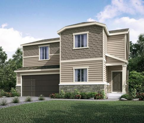 Residence 40206 at Meadowbrook Crossing in Colorado Springs by Century Communities
