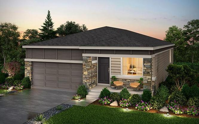 Rendering of Residence 34101 at Anthology in Parker Colorado by Century Communities