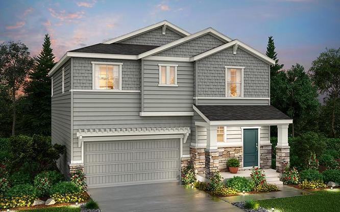 Exterior Rendering of Residence 34203 at Anthology in Parker by Century Communities
