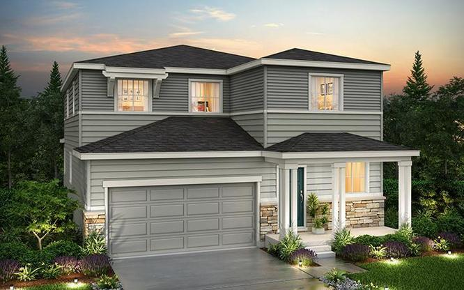 Exterior rendering of Residence 34205 at Anthology by Century Communities