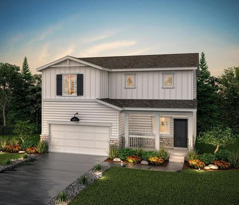 Residence 36204- Elevation E