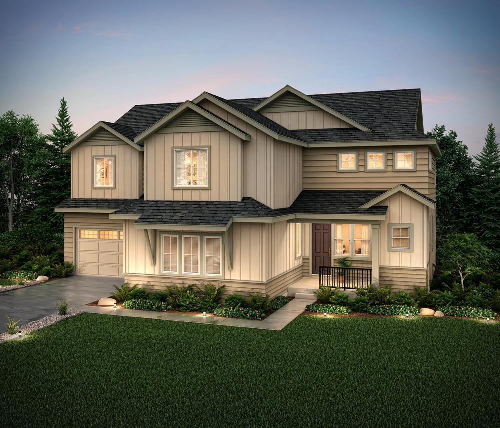 Exterior featured in the Matisse (Residence 60253) By Century Communities in Denver, CO