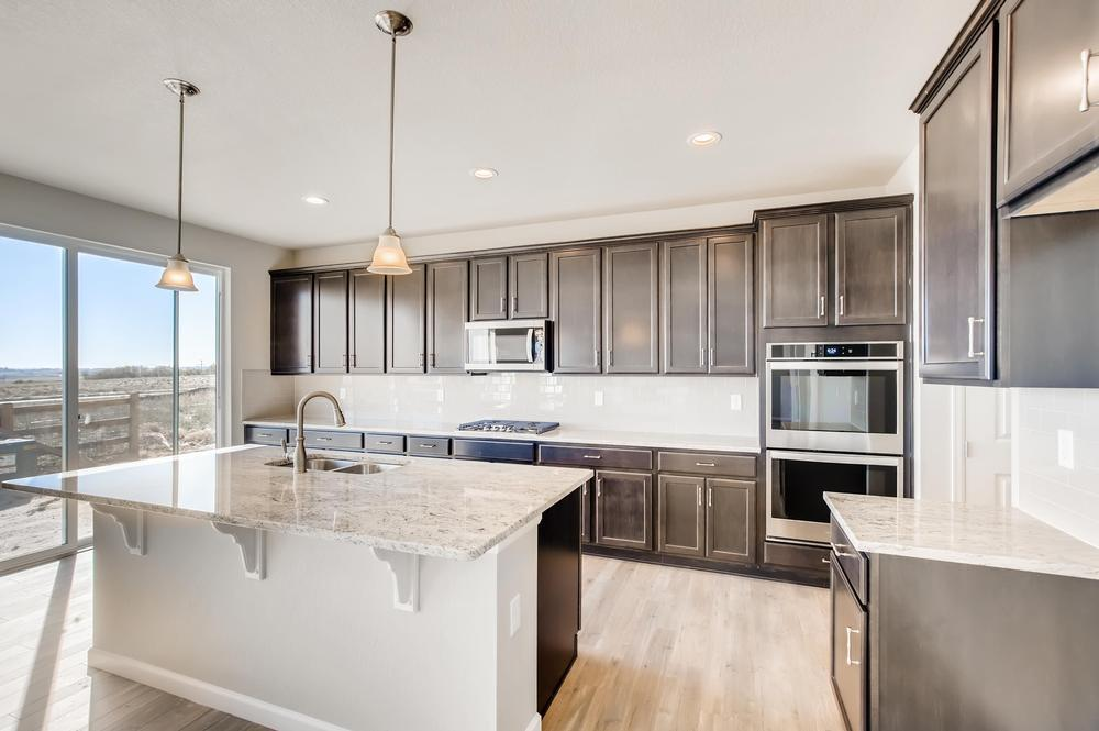 Kitchen featured in the Dartmouth (Residence 50351) By Century Communities in Denver, CO