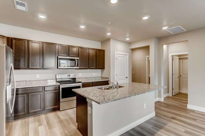 Kitchen featured in the Residence 2C- ALT By Century Communities in Denver, CO