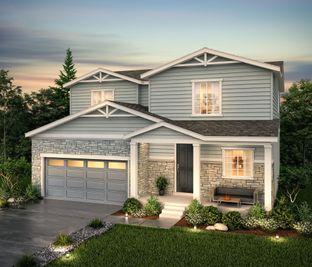 Avon (Residence 39205) - Homestead at Crystal Valley: Castle Rock, Colorado - Century Communities