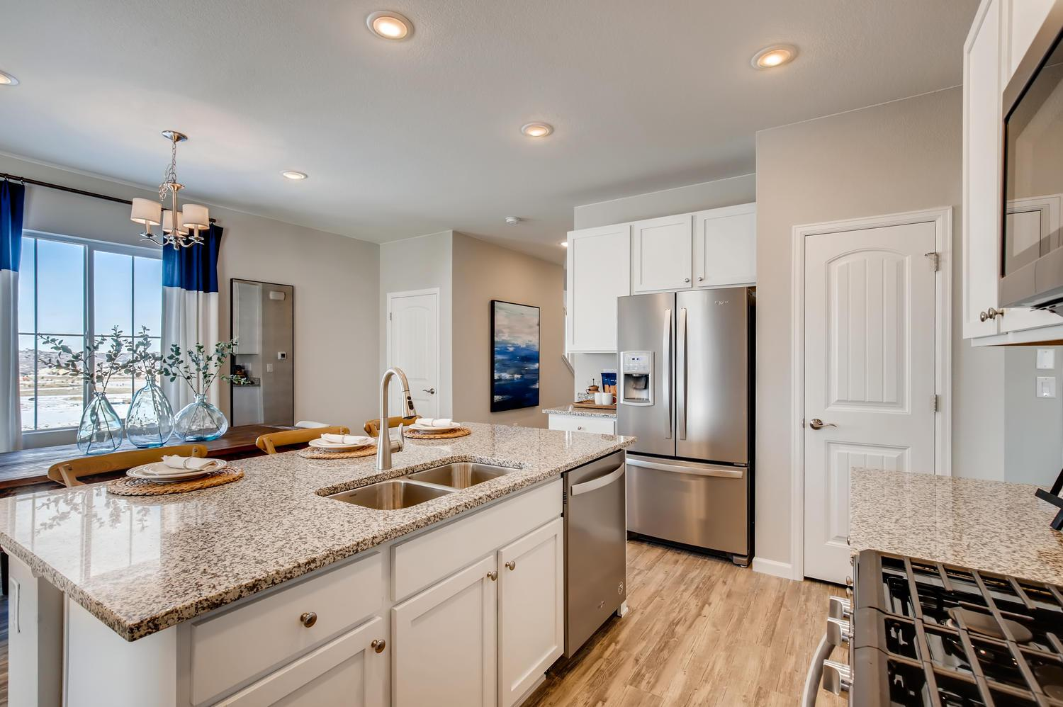 Kitchen featured in the Copper (Residence 29203) By Century Communities in Denver, CO